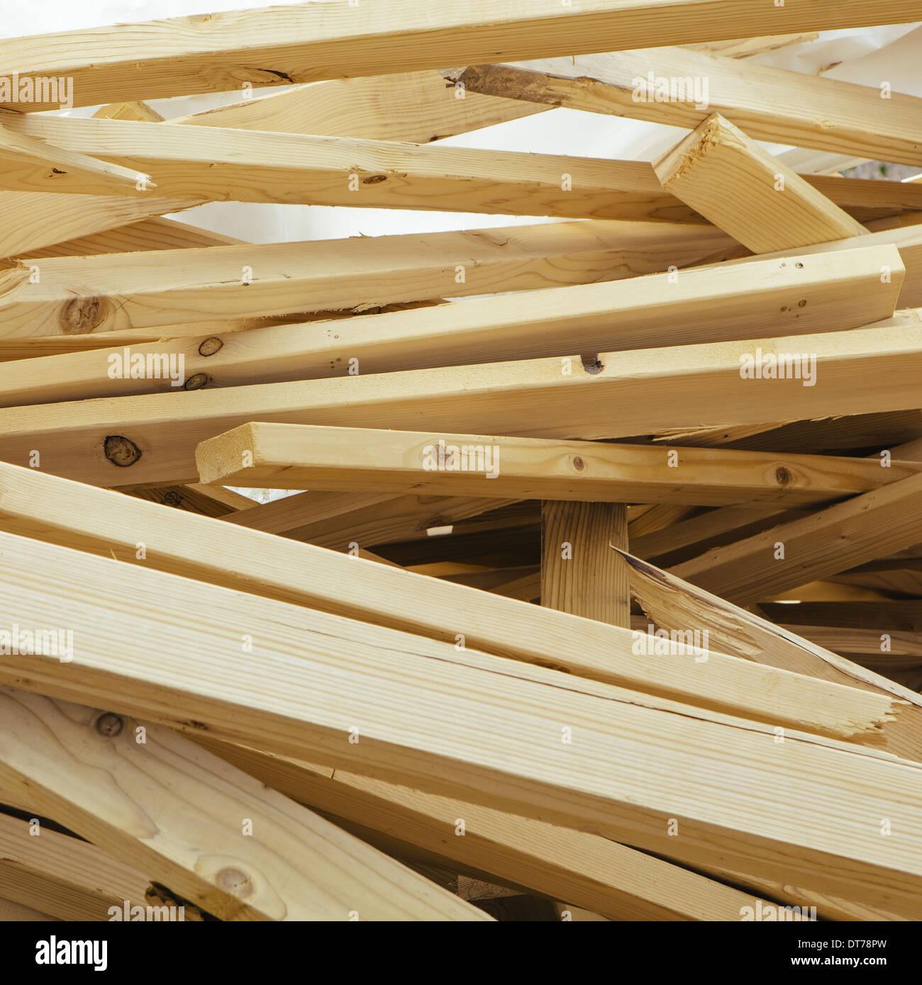 Construction Wood Pile Stockfotos & Construction Wood Pile Bilder ...