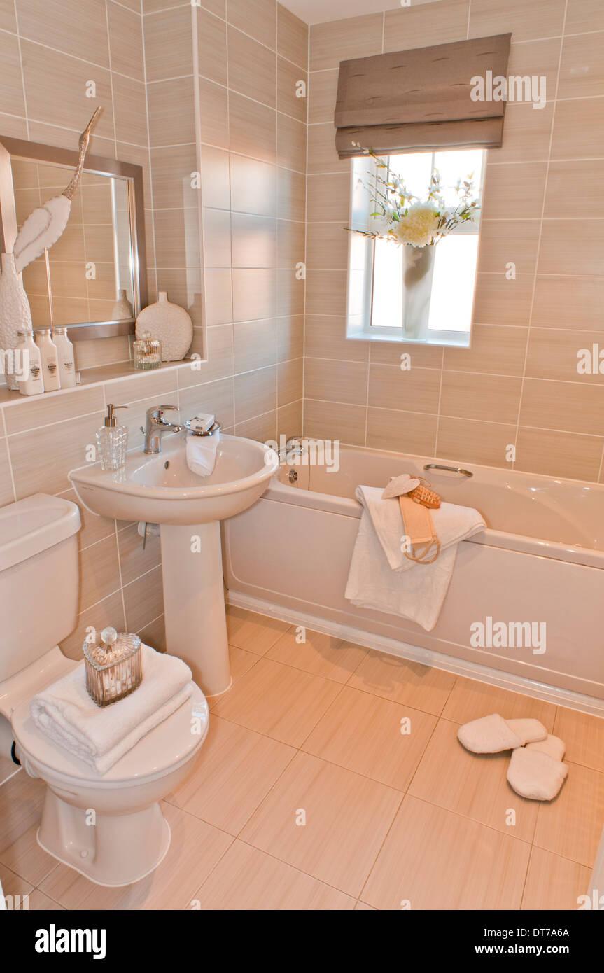 Badezimmer - Wasch-Becken WC & Bad Stockfoto, Bild: 66544530 - Alamy