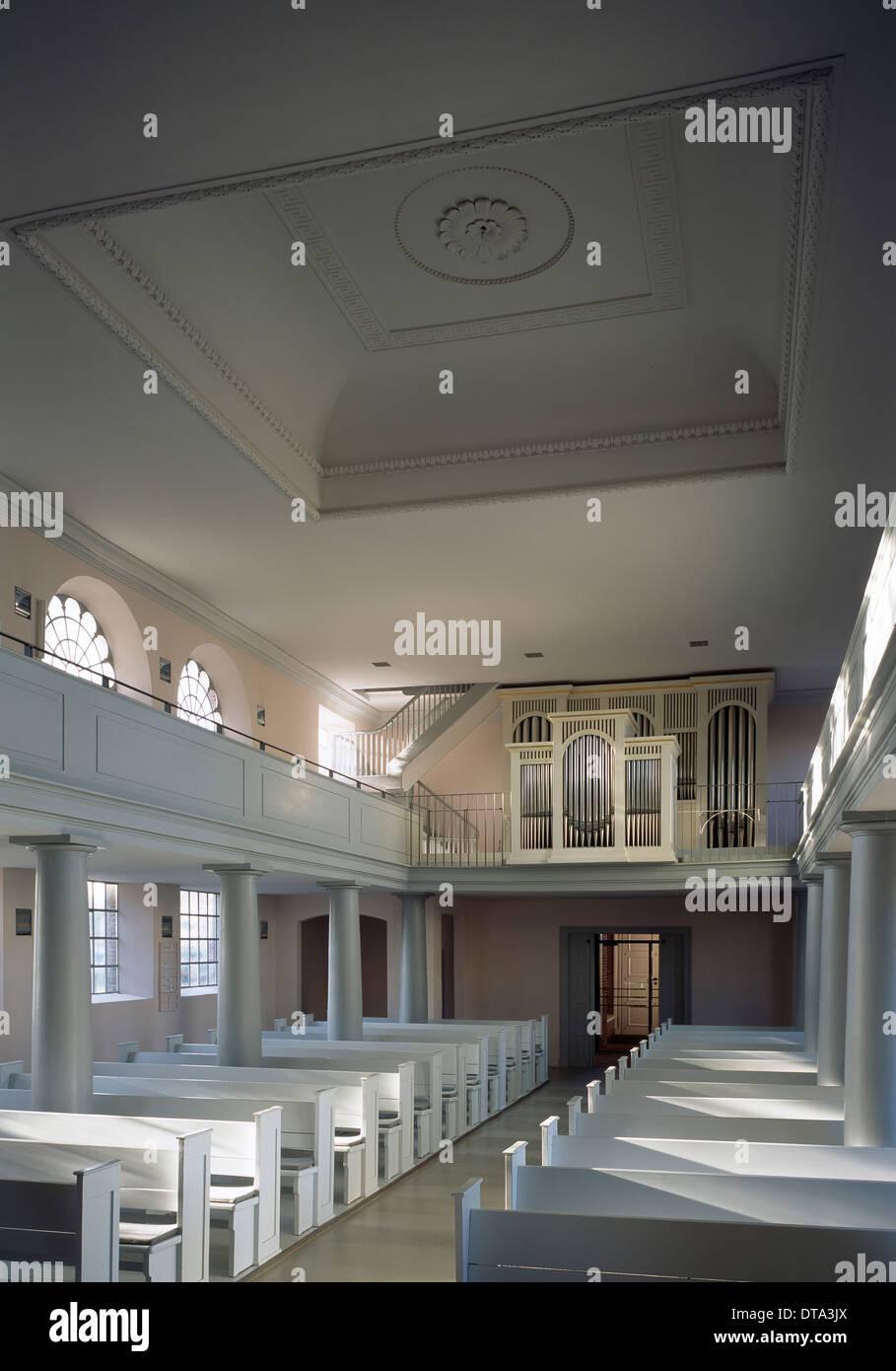 Quickborn, Marienkirche Stockfotografie   Alamy