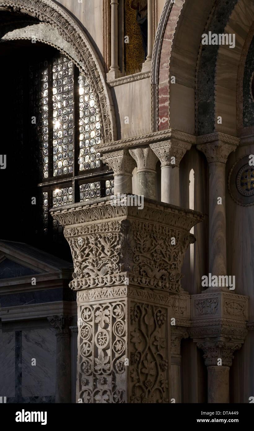 Venedig, Venezia, Markusdom (Basilica di San Marco) Stockbild