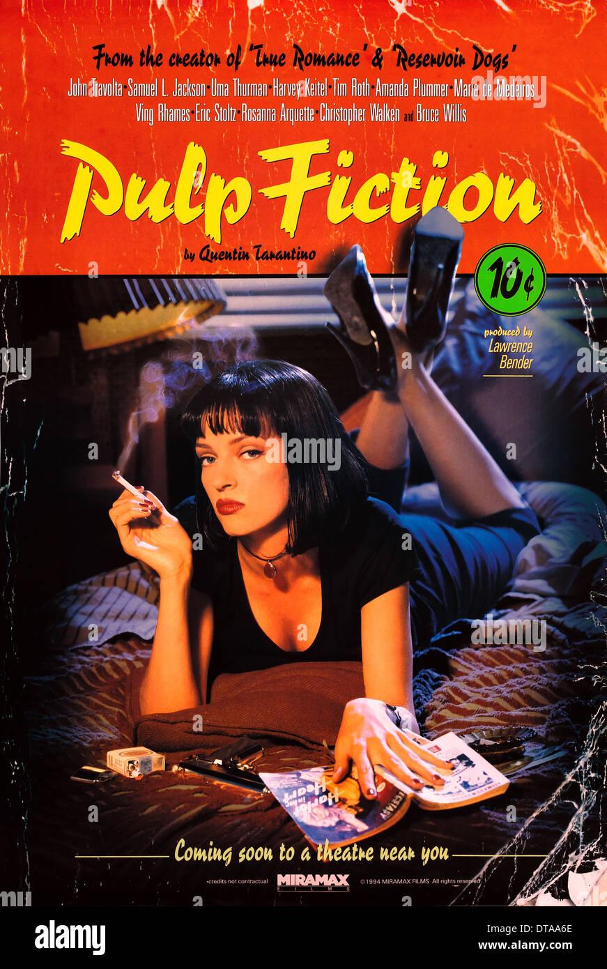 FILM POSTER PULP FICTION 20 Stockfotografie   Alamy