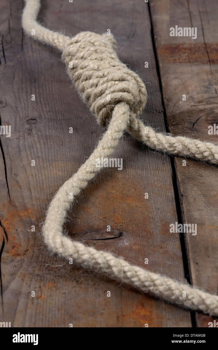 Gallows Hanging Rope Stockfotos & Gallows Hanging Rope Bilder - Alamy
