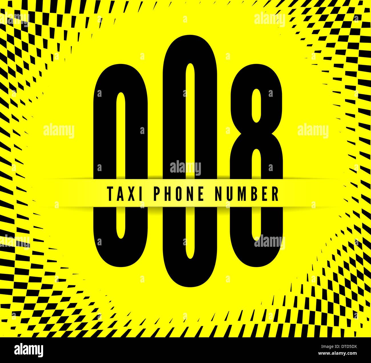 Visitenkarte Taxi Stockfoto Bild 66672534 Alamy