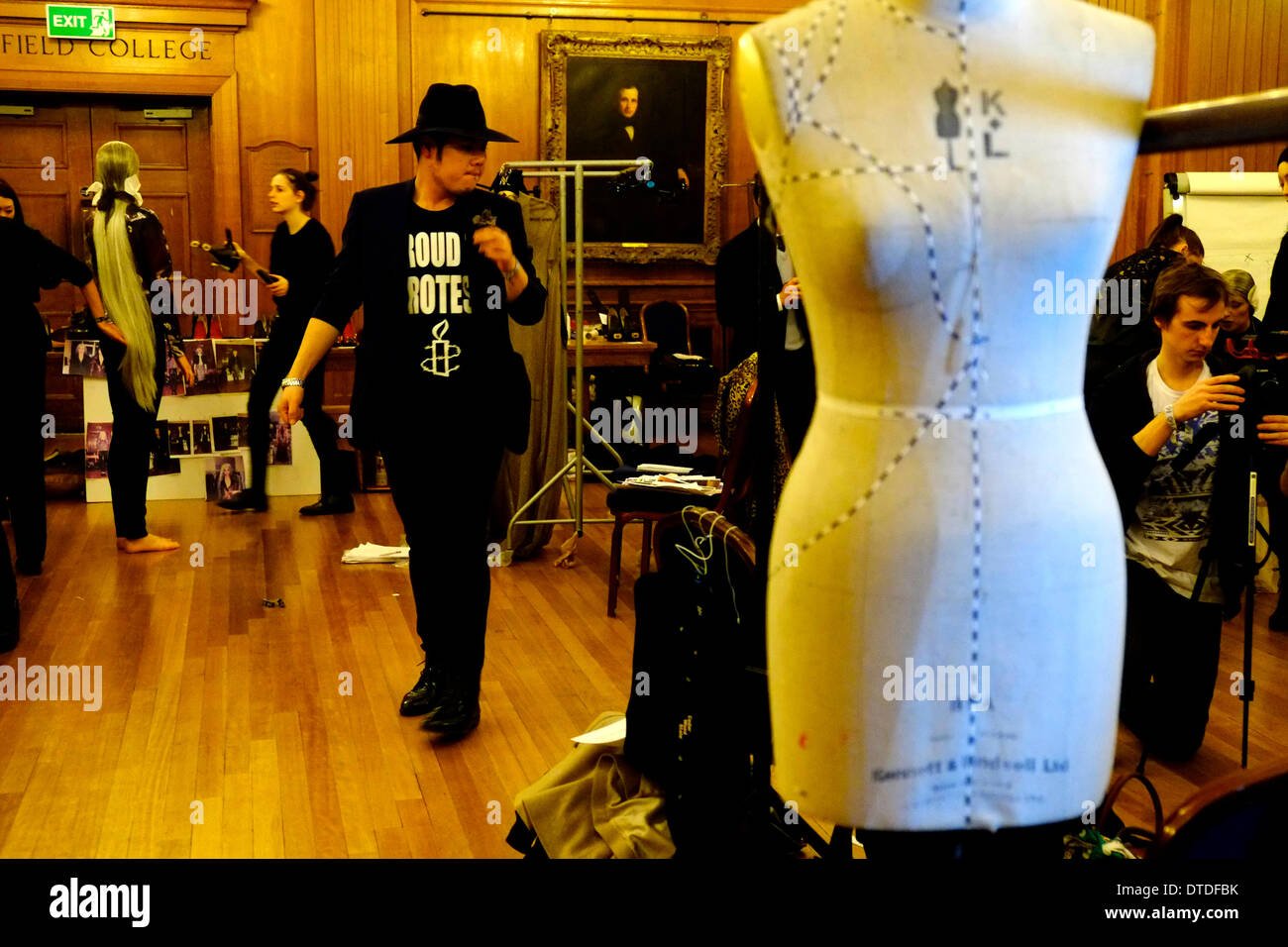 Sorapol h/w 14-Show am Royal College of Surgeons London. Stockbild