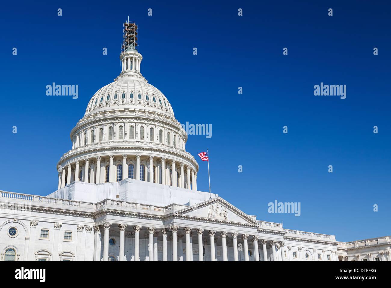 US Capitol, Washington DC Stockbild