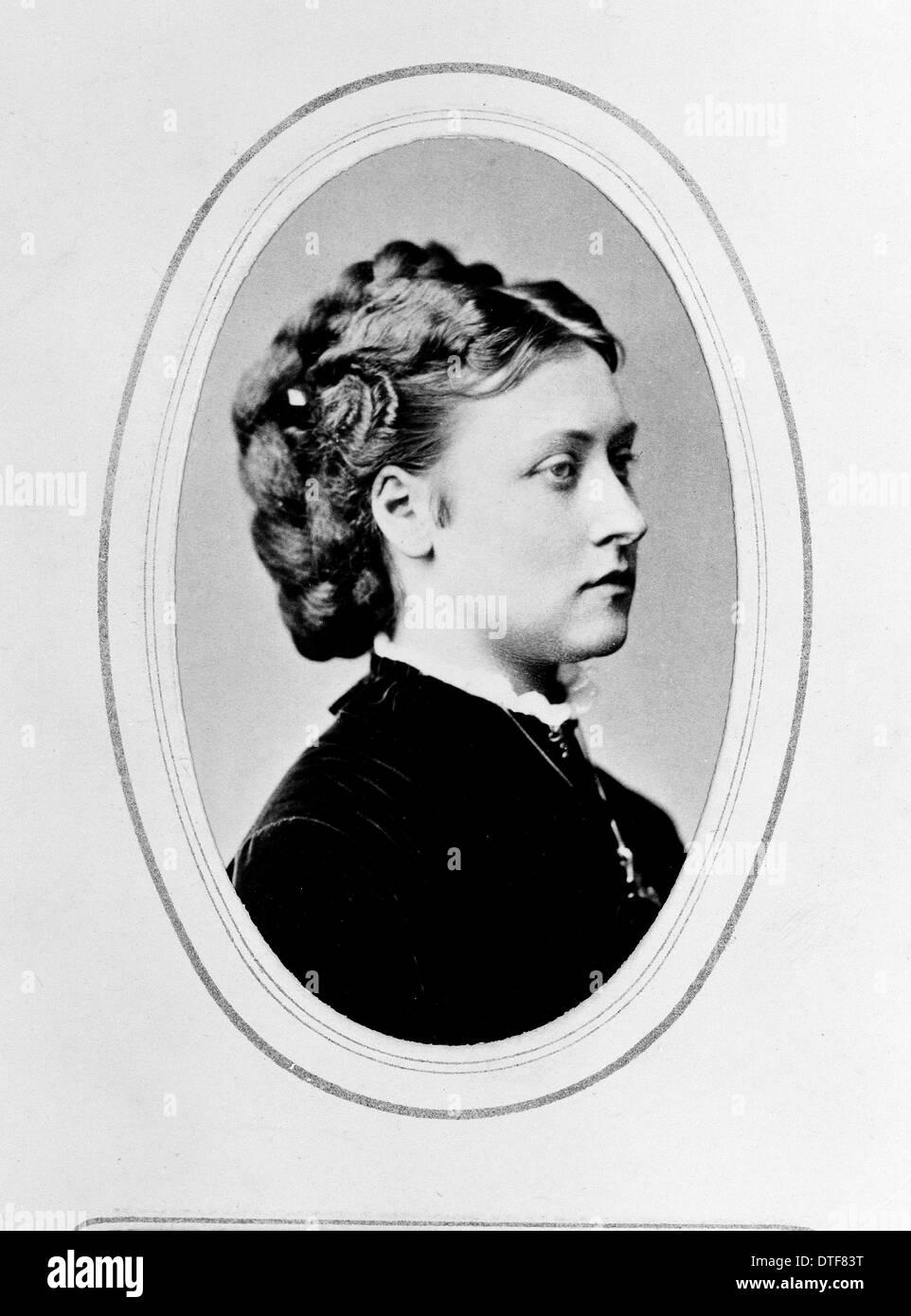 Prinzessin Louise (1848-1939) Stockbild