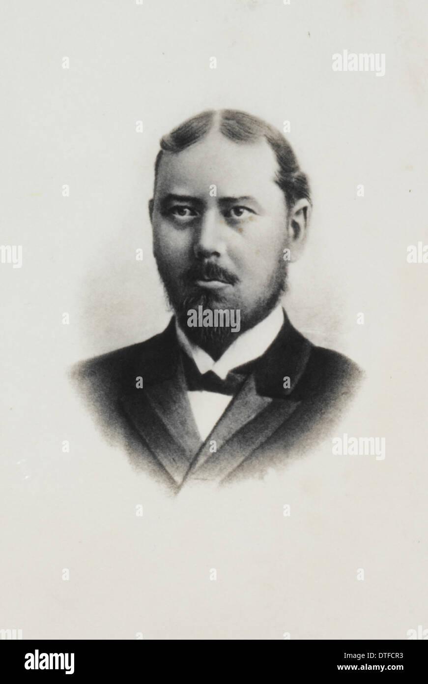 Robert von Lendenfeld (1858-1913) Stockbild