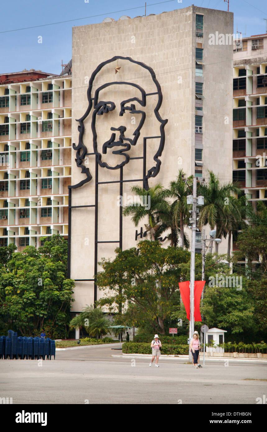 Platz der Revolution, Havanna, Kuba Stockfoto