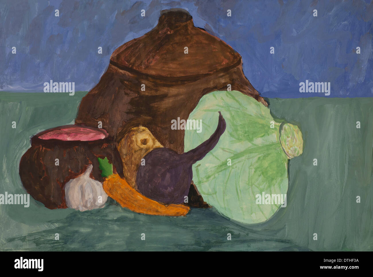 Illustrations Cabbage Stockfotos & Illustrations Cabbage Bilder - Alamy