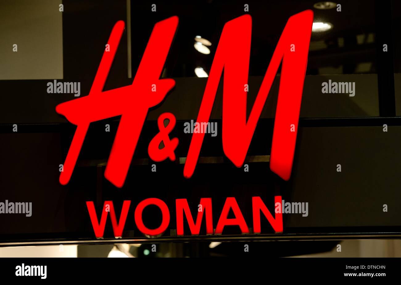 München Deutschland 21 Februar 2014 Das Logo Der Mode Stuhl