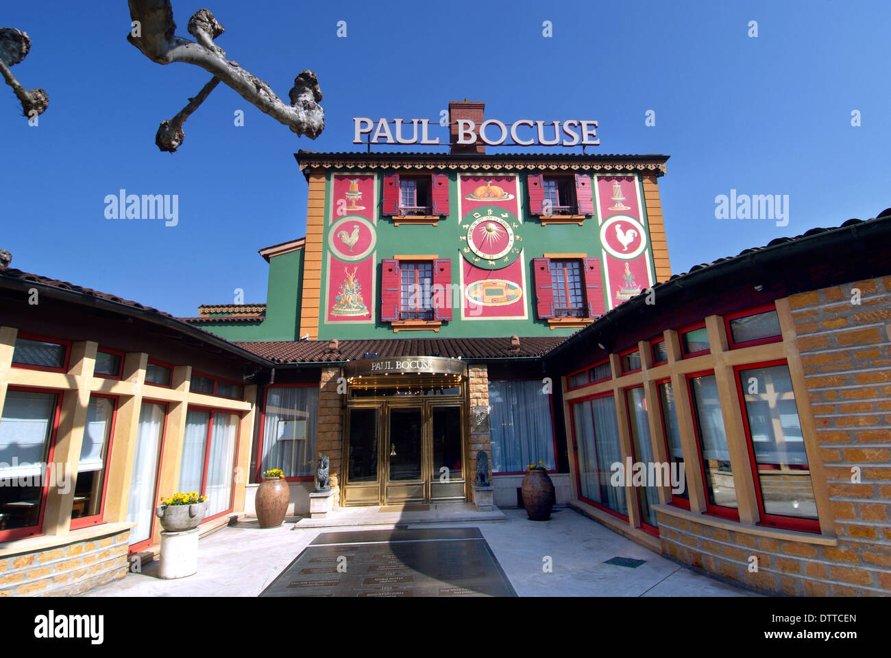 Paul Bocuse Restaurant Collonges Au Mont D Or France