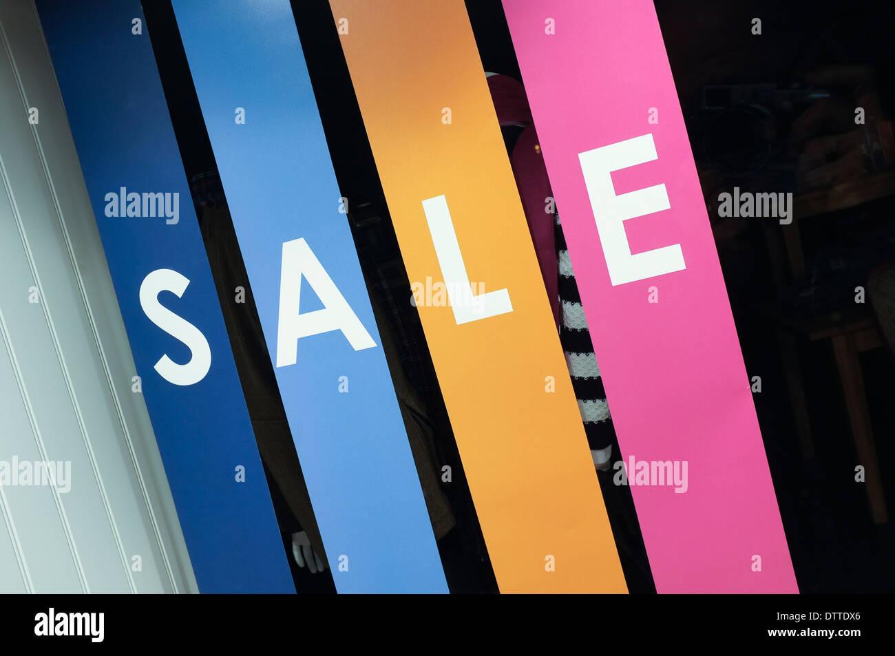 Shop Fenster Verkauf Banner Crew Shop Stockbild