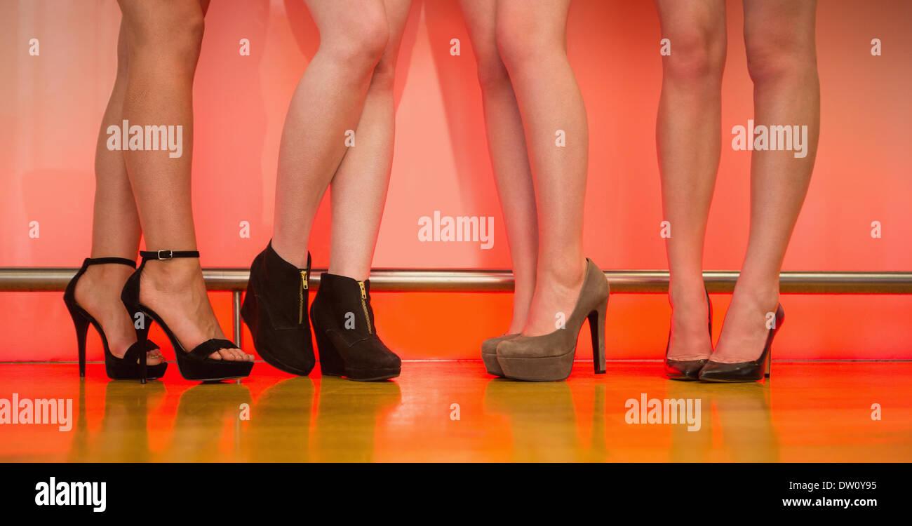 Schöne Frau Beine Mit High Heels Stockfoto und mehr Bilder