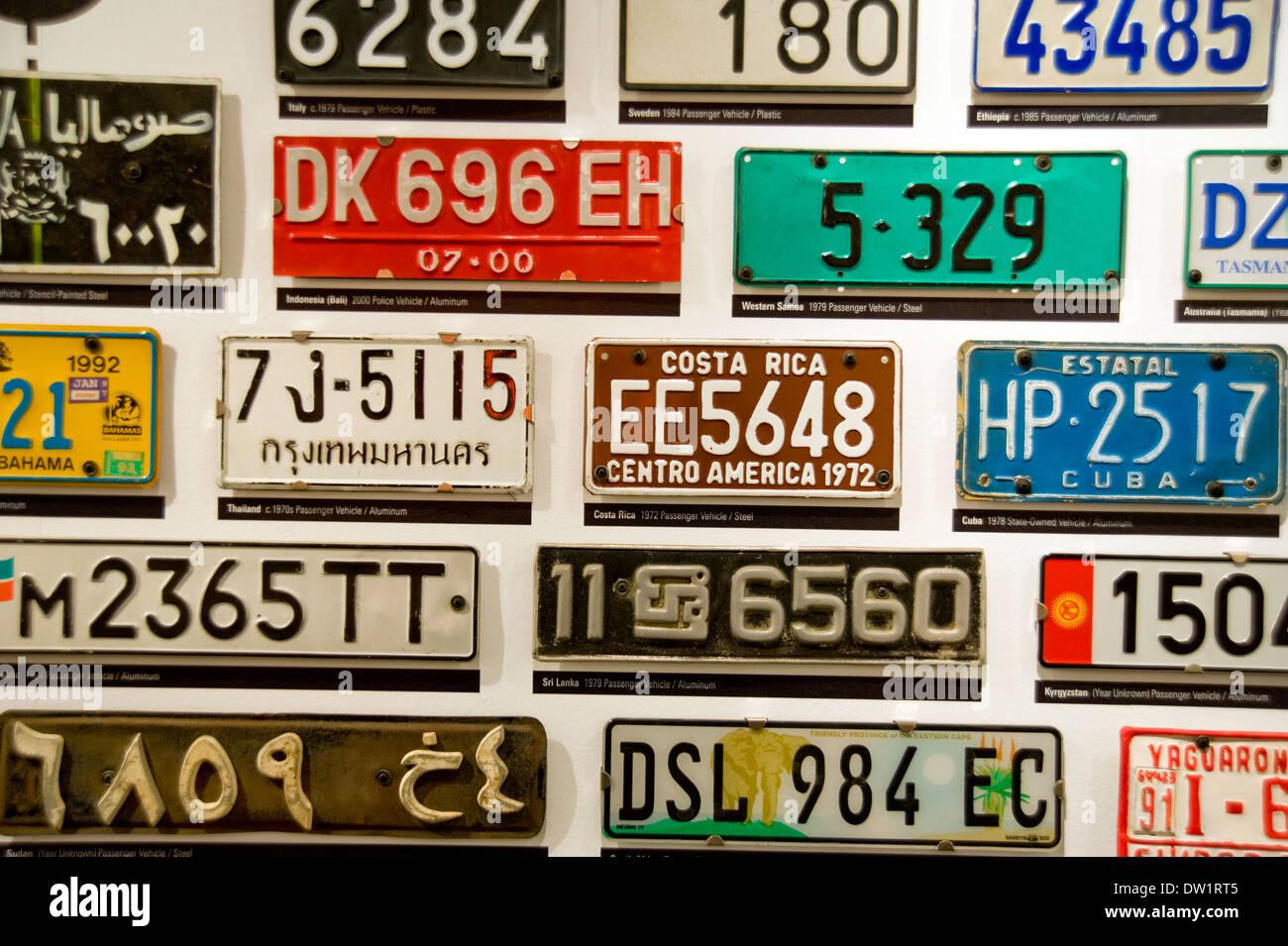 Internationale autokennzeichen