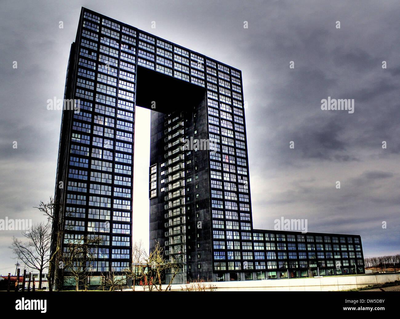 Moderne architektur tasmantoren groningen niederlande - Architektur moderne ...