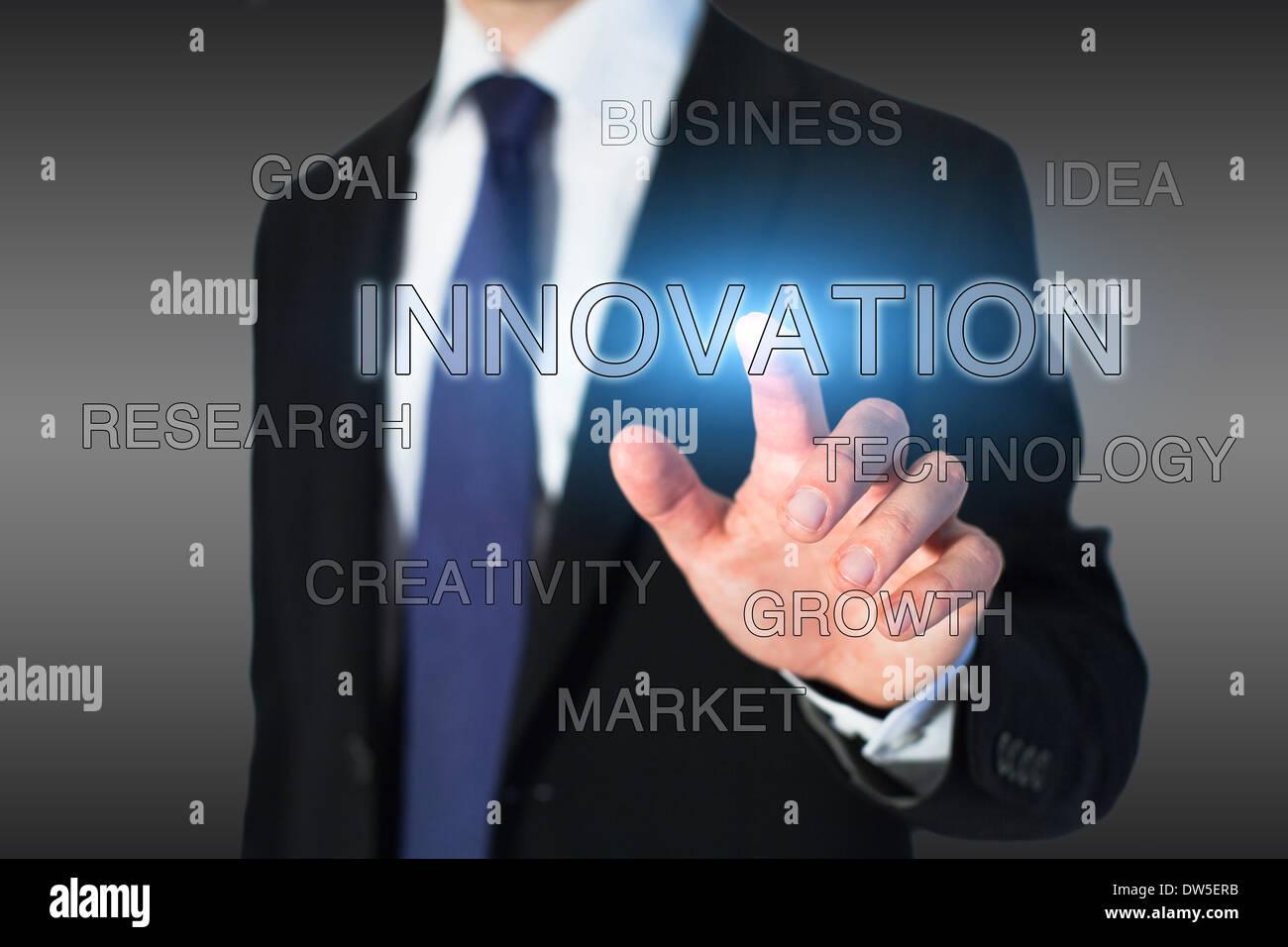 Innovationskonzept Stockbild