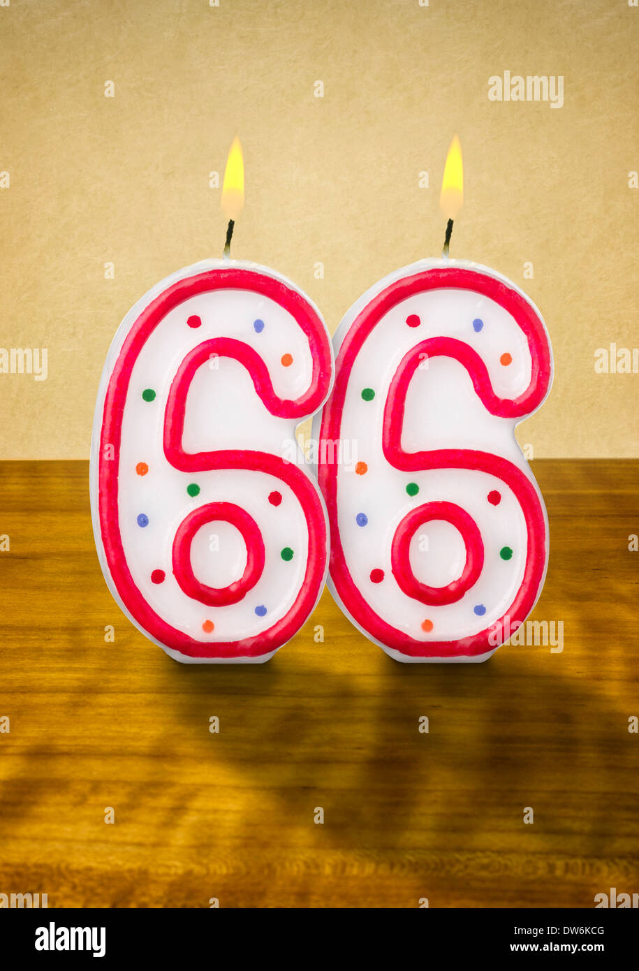 Happy Birthday Zum 66 Geburtstag Stockfotos Happy Birthday Zum 66