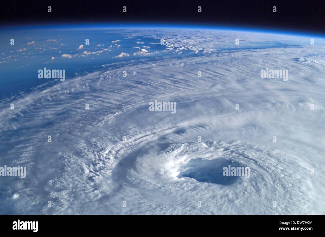 Hurrikan Isabel, Wirbelstürme Stockbild