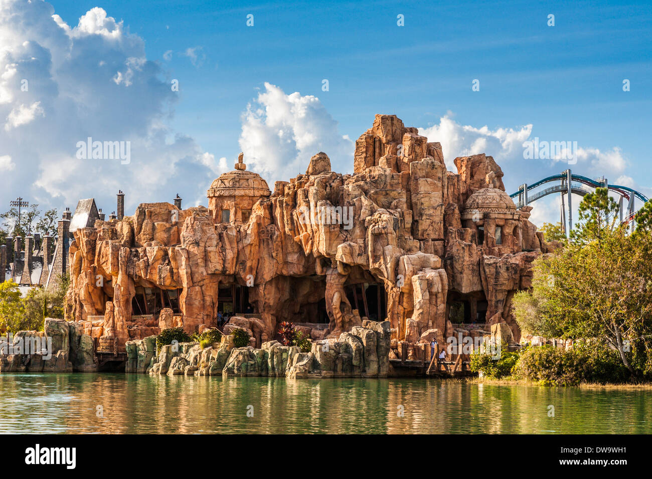 Verloren Kontinent Universal Studios Islands of Adventure in Orlando, Florida Stockbild