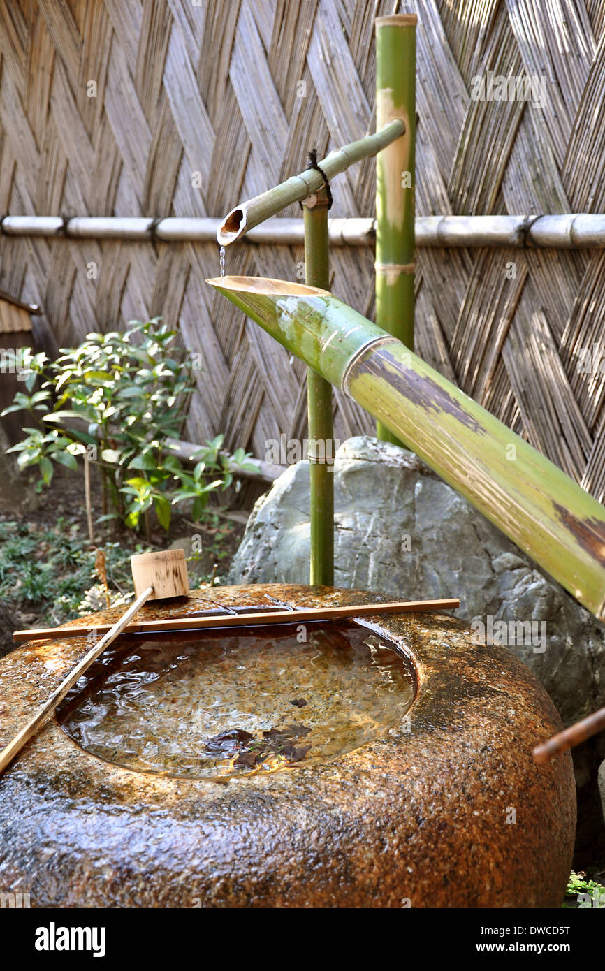 Japanische Brunnen