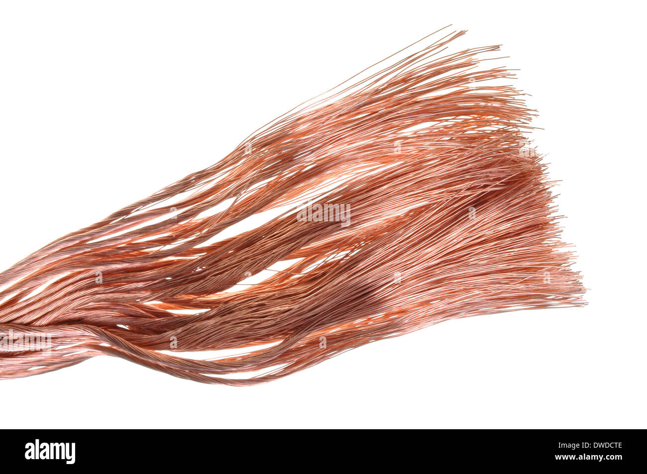 Copper Wire Industrial Raw Materials Stockfotos & Copper Wire ...