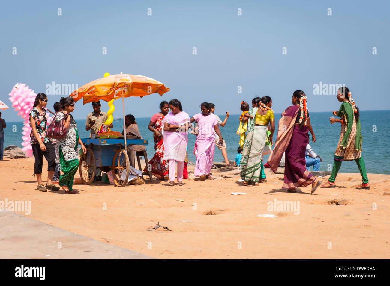 Pondicherry Mädchen