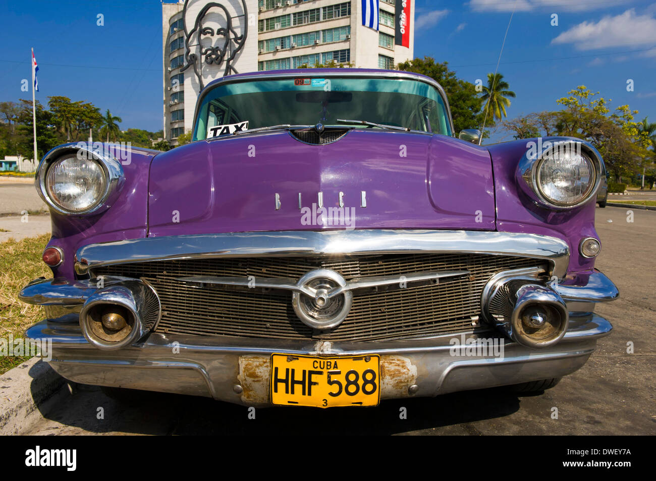 Oldtimer, Havanna Stockbild