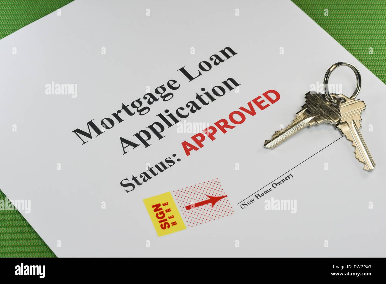 Mortgage Document Stockfotos & Mortgage Document Bilder - Alamy