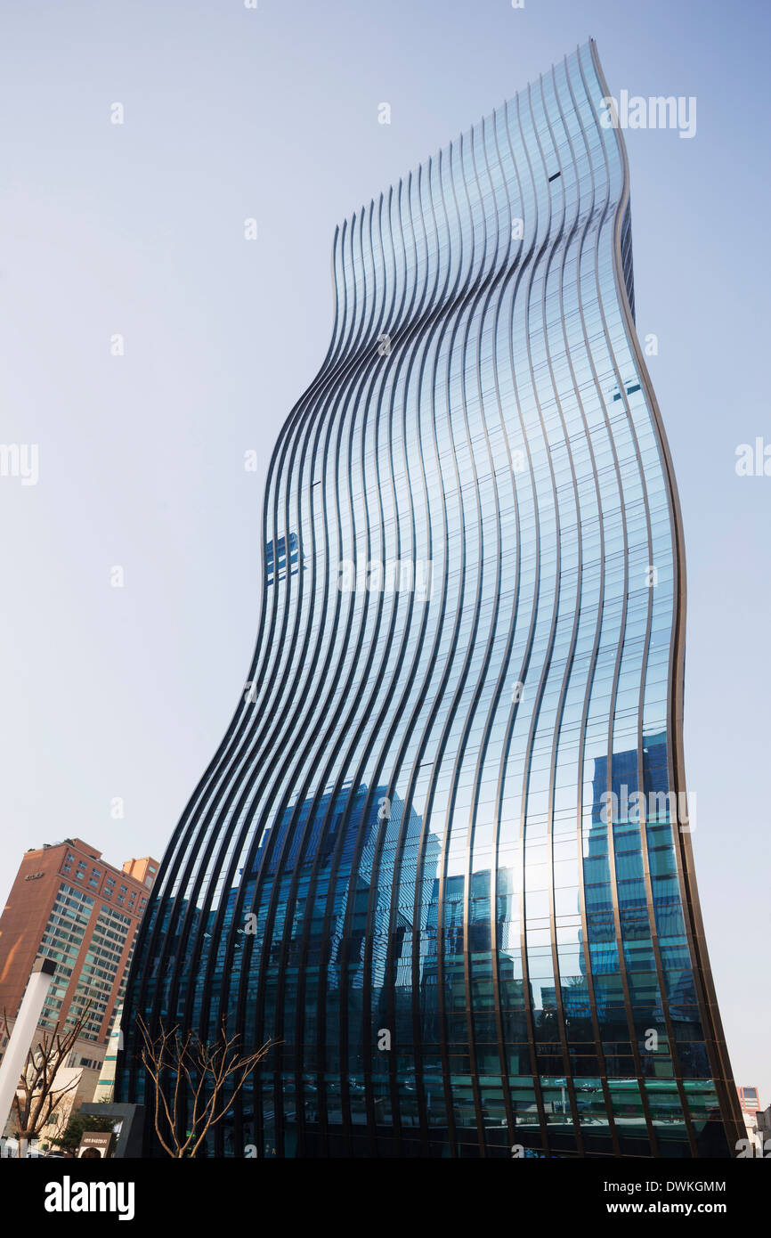 GT-Turm, entworfen von ArchitectenConsort, Seoul, Südkorea, Asien Stockbild