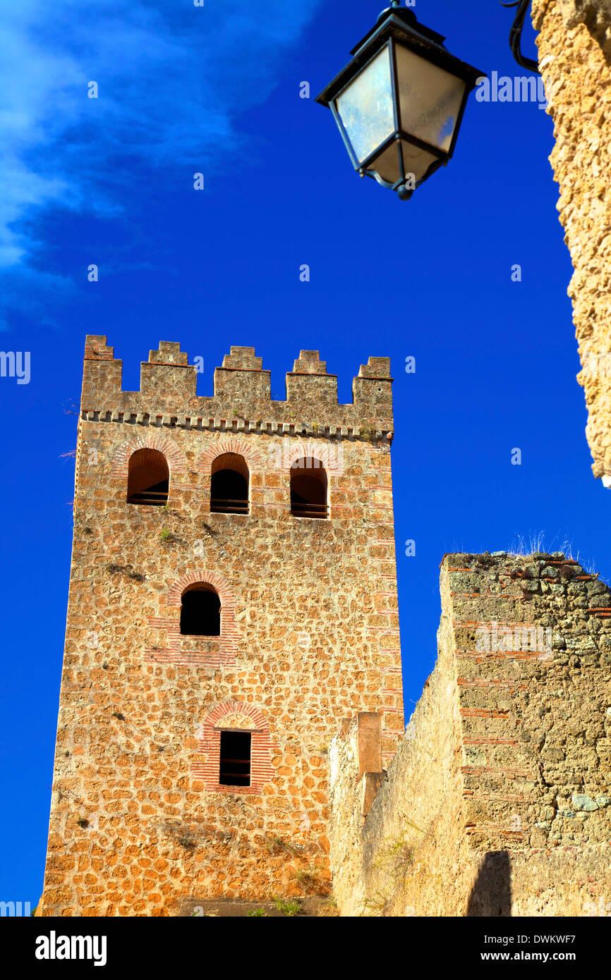 Historischen Kasbah, Chefchaouen, Marokko, Nordafrika, Afrika Stockbild