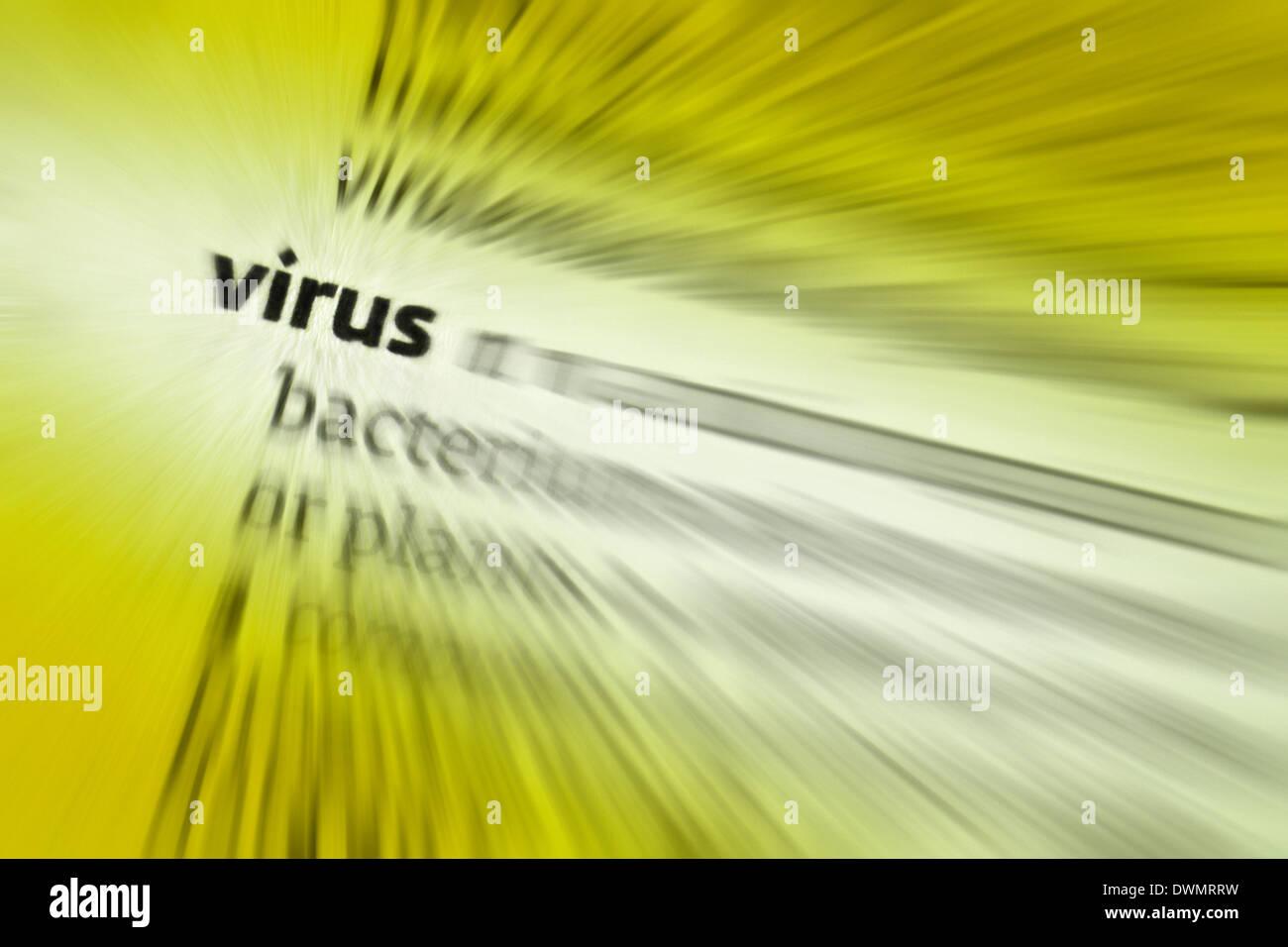 Virus Stockbild