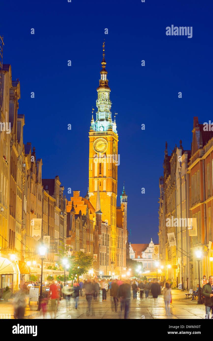 St. Marien Kirche, Gdansk, Polen, Europa Stockbild