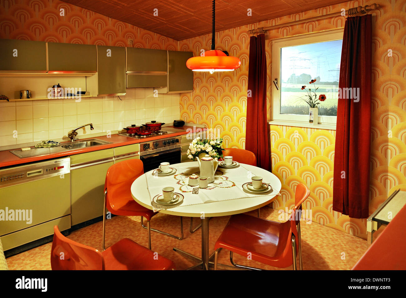 1960s Interior Design Stockfotos & 1960s Interior Design Bilder - Alamy