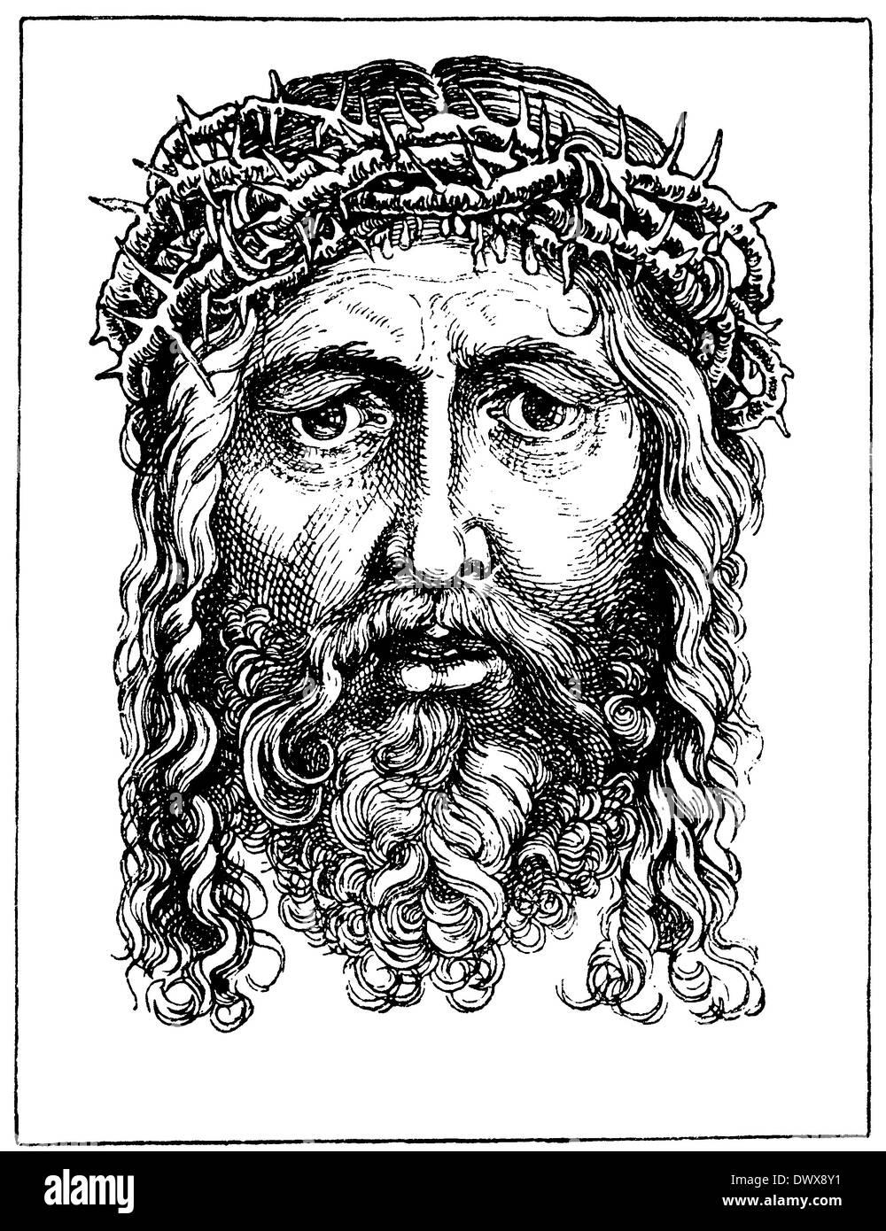 Ecce Homo. Von Albrecht Dürer Stockbild