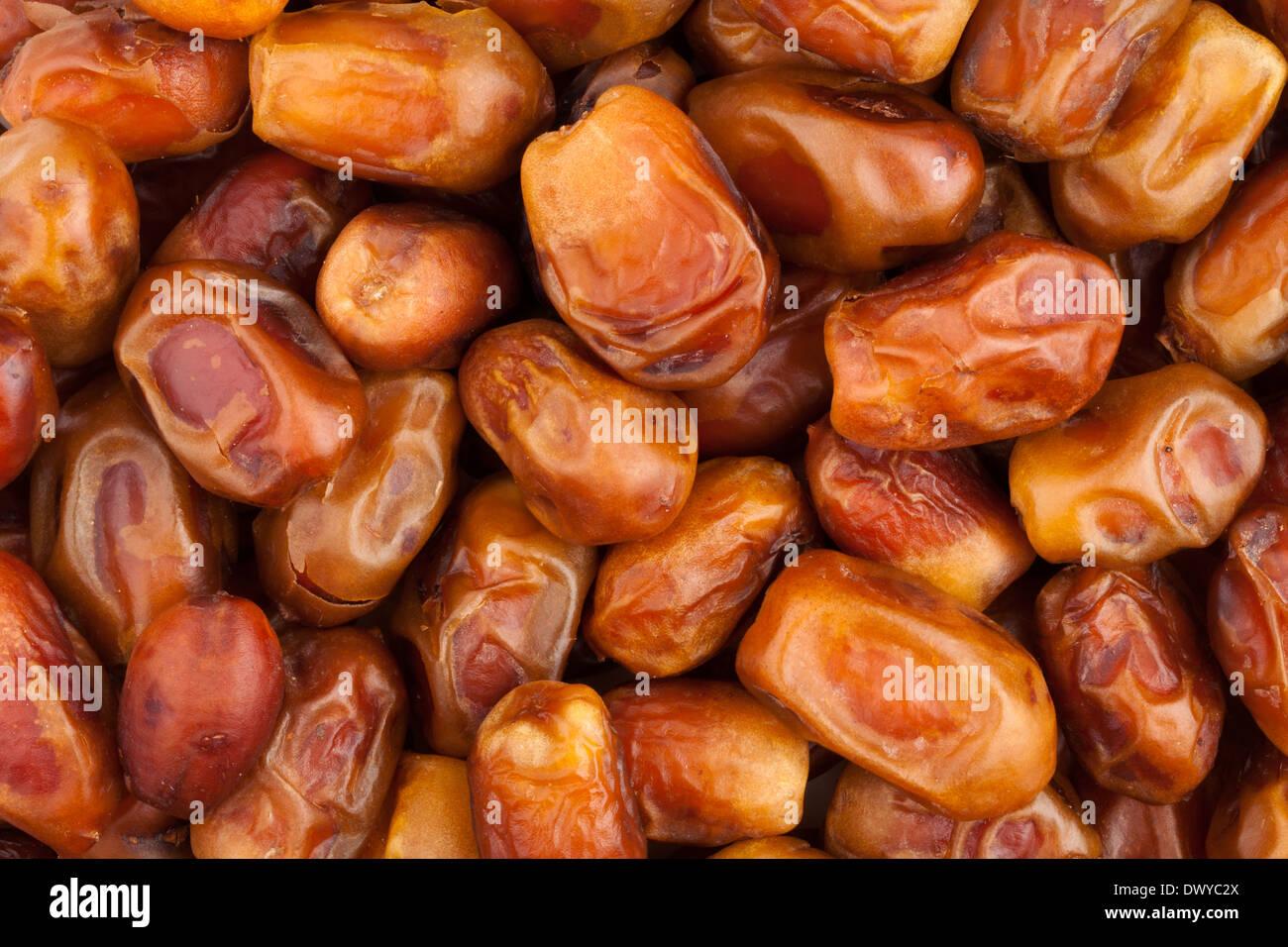 Termine-Obst-Hintergrund Stockbild