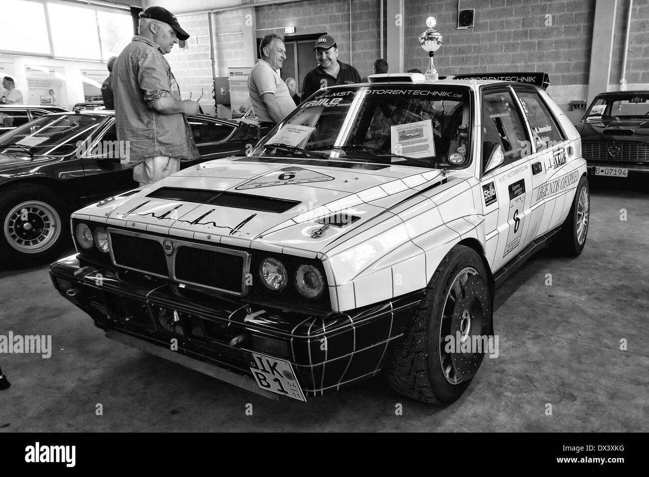 sport auto lancia delta hf integrale 8v stockfoto, bild: 67698948