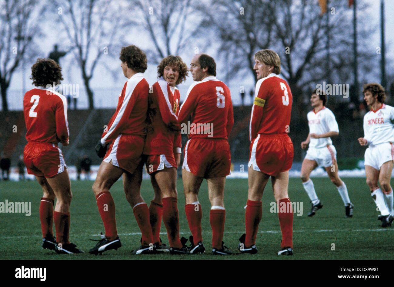 Fussball Bundesliga 1980 1981 Rheinstadion Fortuna