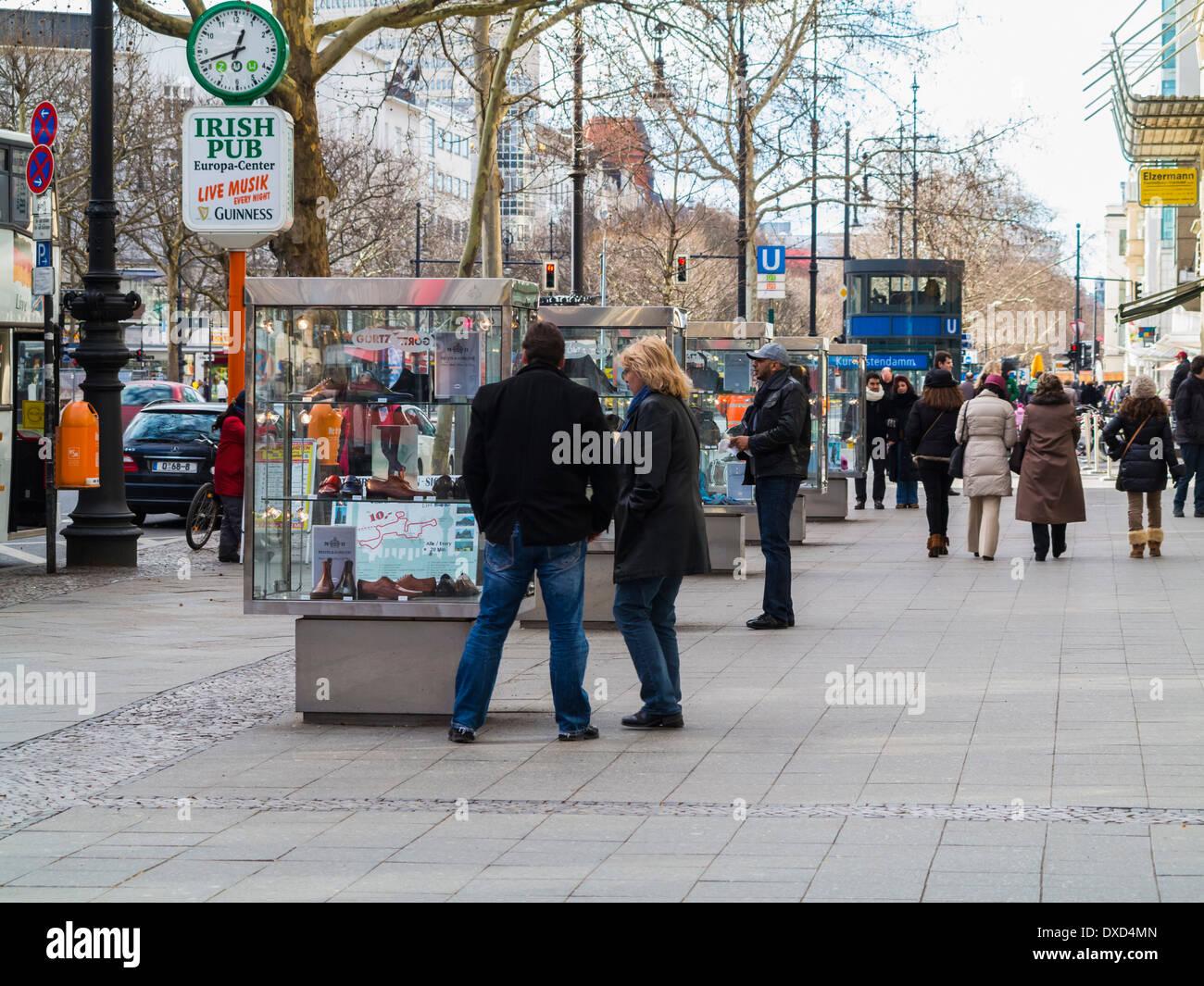 Kurfürstendamm, Berlin, Deutschland, Europa Stockfoto