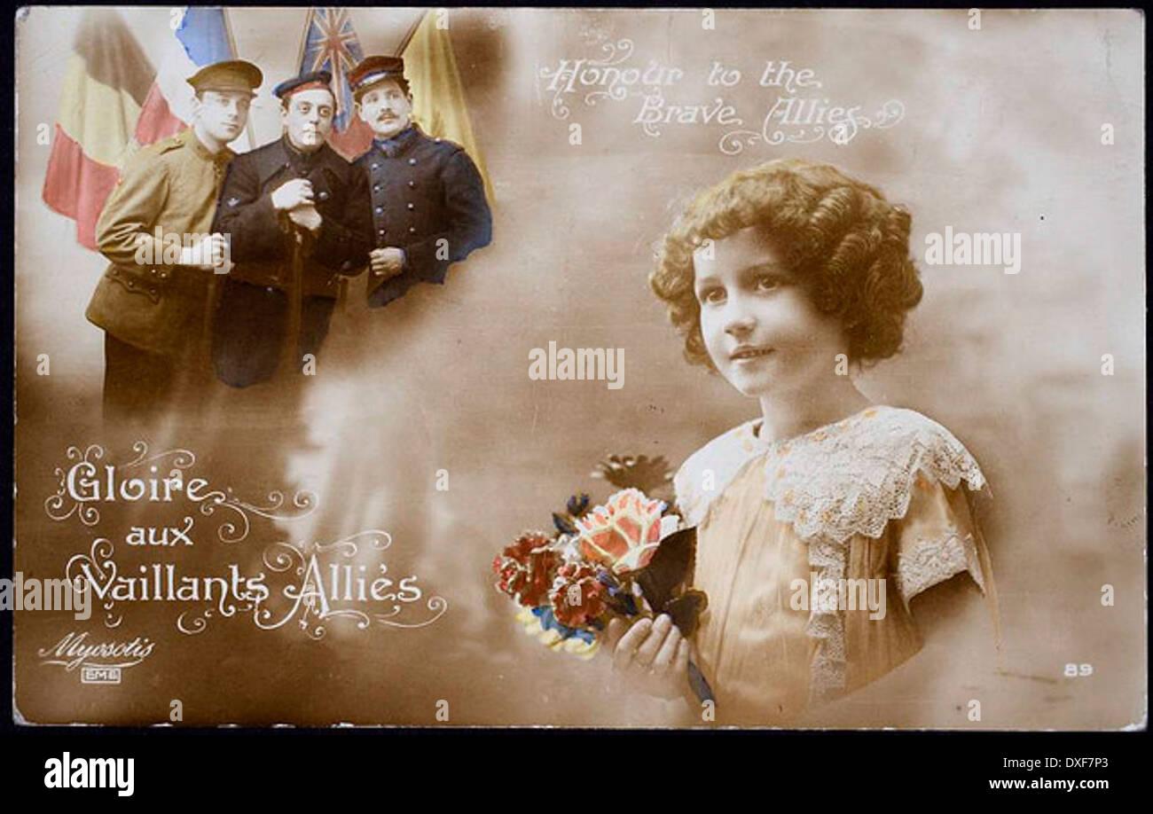 vergangener Vintage alte Geschichte historische Fotodruck vergangener Zeiten Stockbild