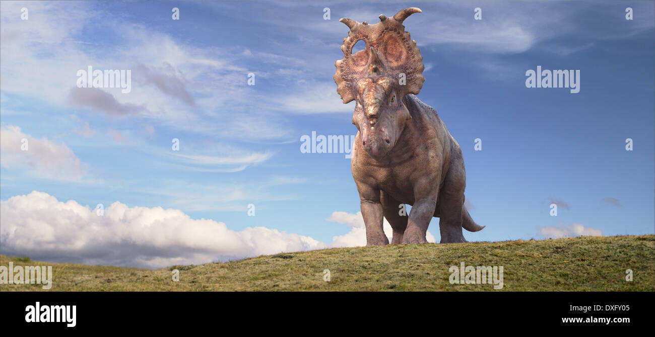Walking With Dinosaurs 3D Stockfoto