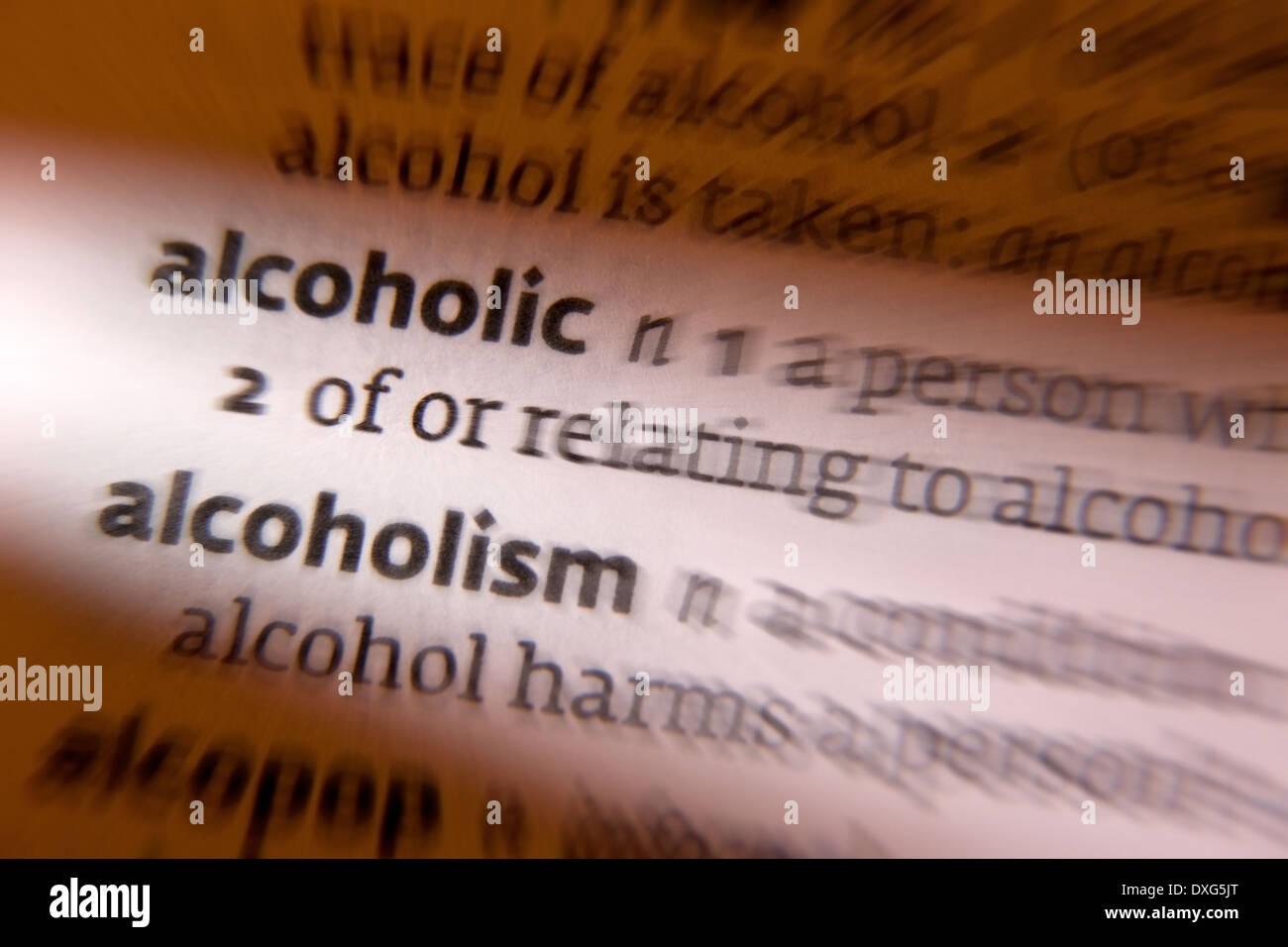 Geräumig Alkohol Definition Dekoration Von - Stockbild