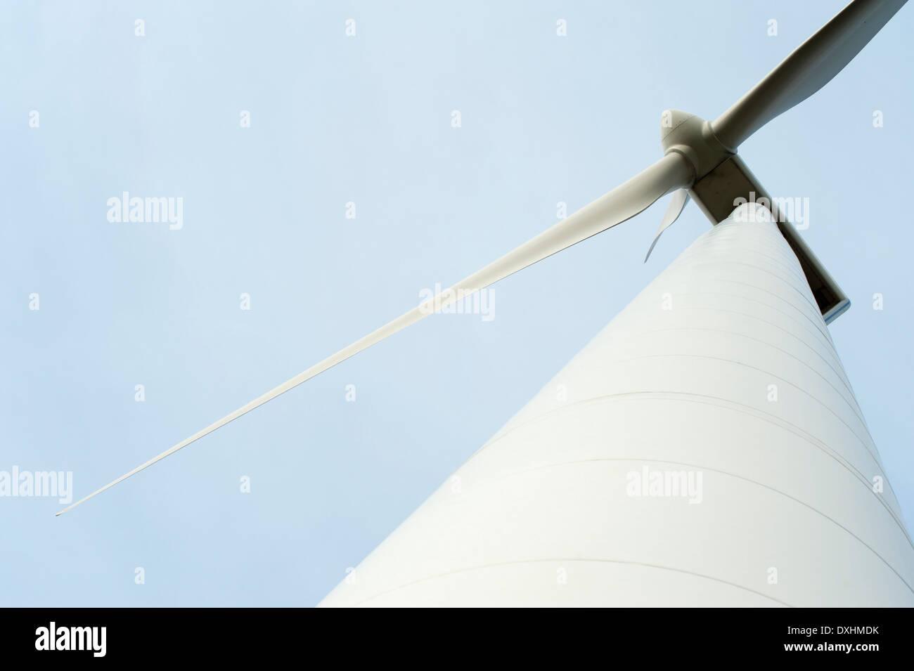 Rotor der Windkraftanlage Stockbild