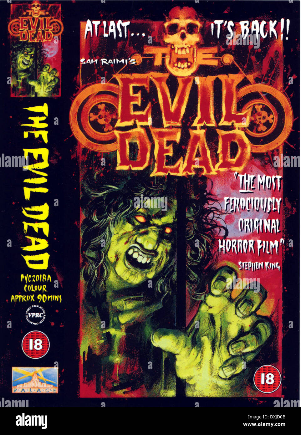 THE EVIL DEAD Stockbild
