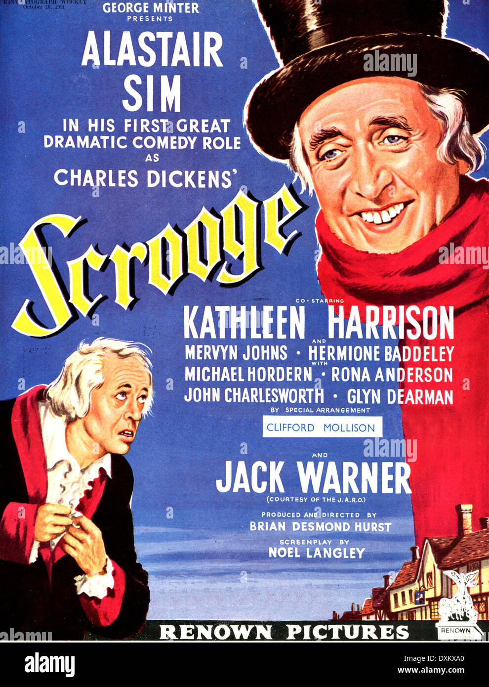 Scrooge Film Stockfotos & Scrooge Film Bilder - Alamy