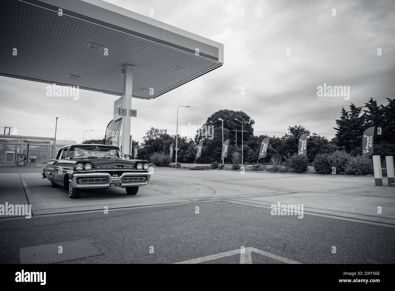 Geparkten Mercury Montclair Stockbild