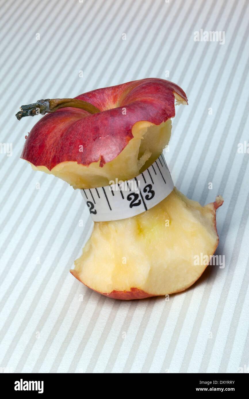 Diät - Gewichtsabnahme Stockbild