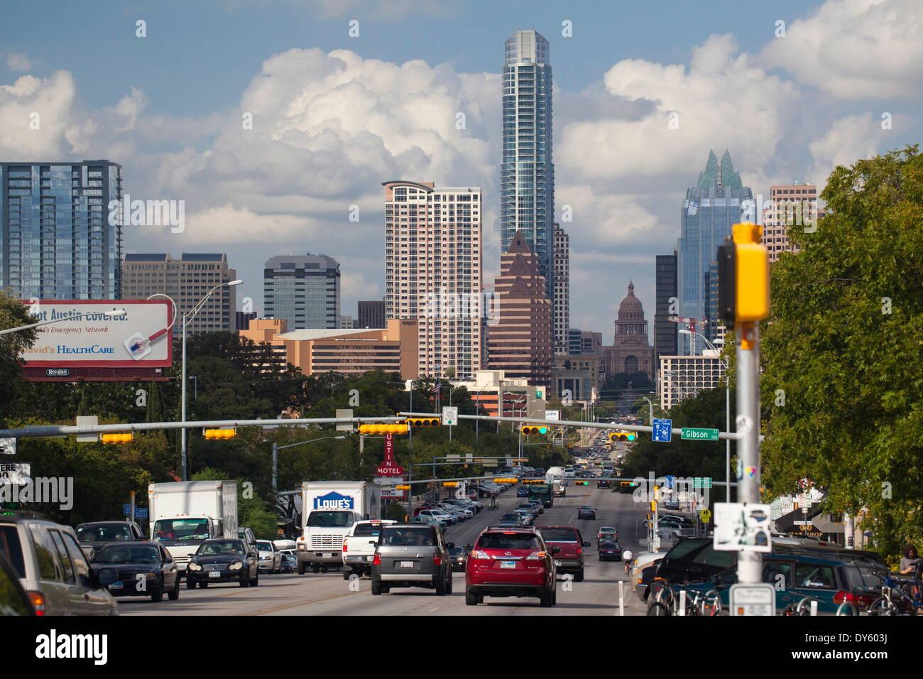 Austin, Texas, Vereinigte Staaten von Amerika, Nordamerika Stockbild