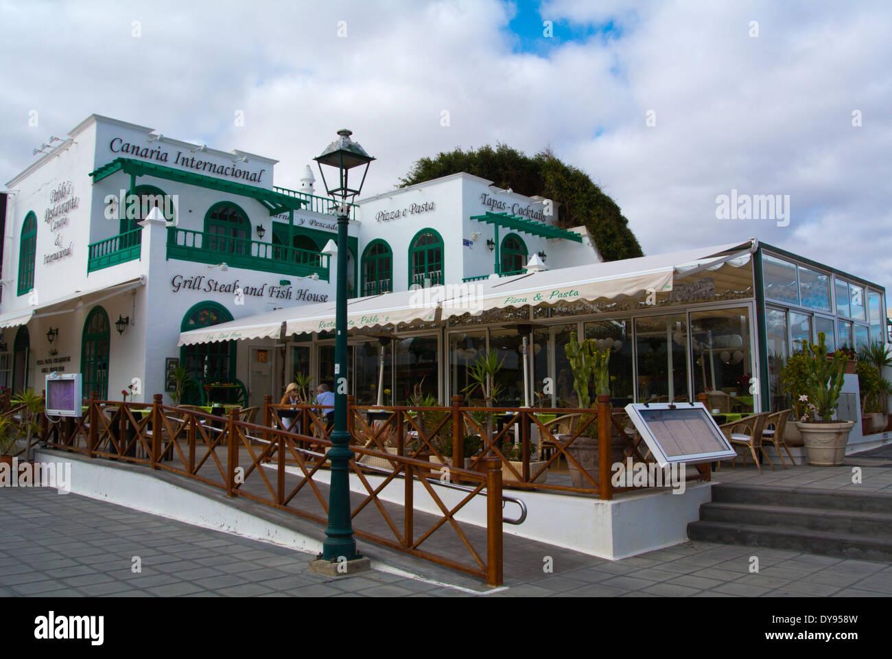 Design El Lanzarote | El Pueblo Marinero Von Cesar Manrique Und Alfonso Galan Costa