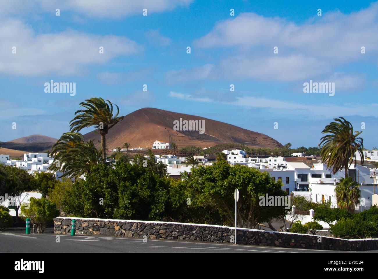 Uga, Gemeinde Yaiza, Lanzarote, Kanarische Inseln, Spanien, Europa Stockbild