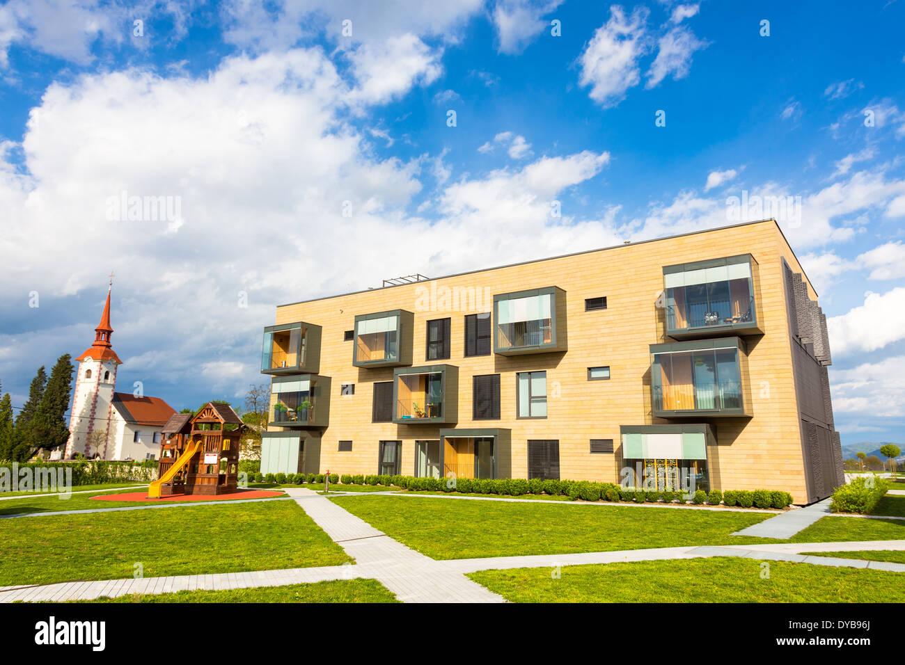 Moderne Wohnarchitektur Stockfoto, Bild: 68475530 - Alamy
